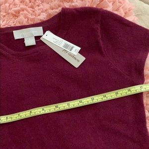 ply cashmere Sweaters - 100% cashmere short sleeve sweater nwt medium